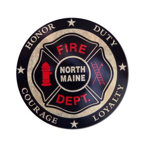 North Maine FPD decal