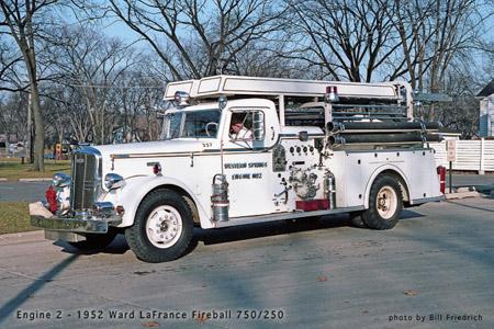 Western Springs Fire Department Ward LaFrance Fireball