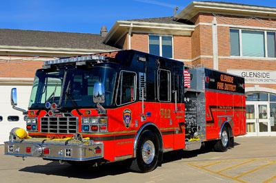 Glenside Fire Distrcit Ferrara Igniter engine