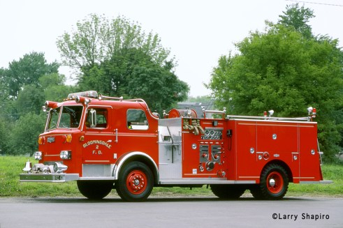 Bloomingdale Fire Protection District 1981 Pirsch custom pumper