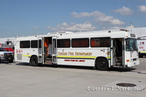 Chicago Fire Department 8-8-1 Mass Casualty Bus