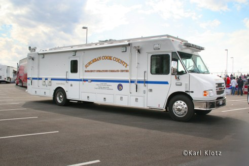 Firefighter Combat Challenge Tinley Park IL Cook County Emergency Operations Mobile Command Center