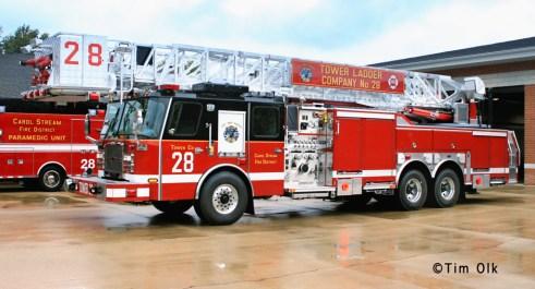 Carol Stream Fire District Tower 28