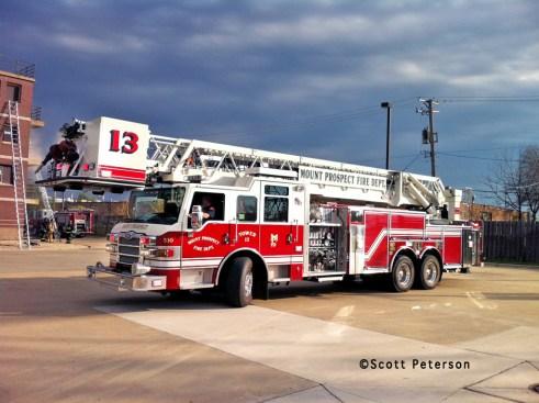 Mount Prospect Fire Department Tower 13