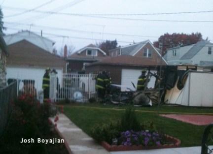 Cicero Fire Department garage fire 10-30-11 6400 block of 61st Avenue
