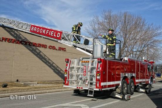 Industrial fire in McCook at 9550 Joliet Road 1-30-12