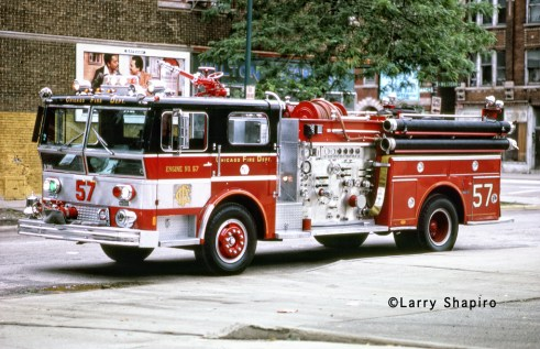 Chicago Fire Department Engine 57 1973 Ward LaFrance Ambassador