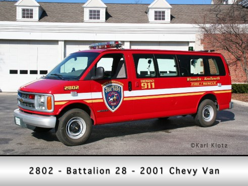 Winnetka Fire Department Battalion 28