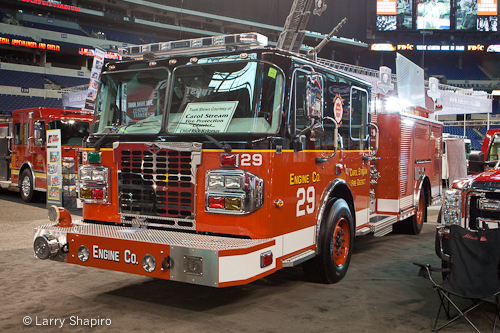 Carol Stream Fire District Alexis Engine 29