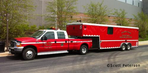 Elk Grove Village Fire Department Special Teams Squad unit