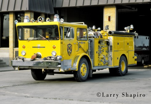 Glenbrook Fire Protection District Engine 144 1976 American LaFrance Pioneer