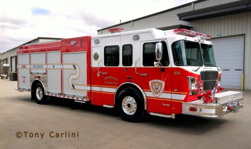 Northlake Fire Department marion Engine