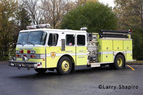 Darien-Woodridge Engine 611