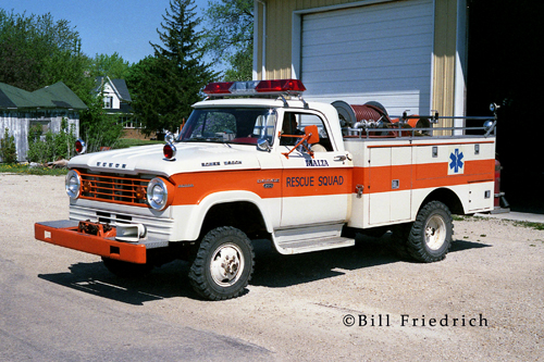 Malta Fire Protection District 1965 Dodge/Boyer mini-pumper