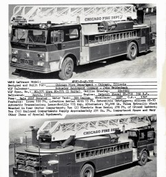 ward lafrance 1970 brochure with chicago ladder trucks [ 1024 x 1317 Pixel ]