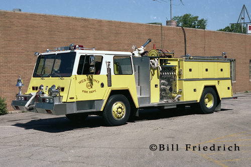 Westmont Fire Department Pemfab Wedge engine by FTI