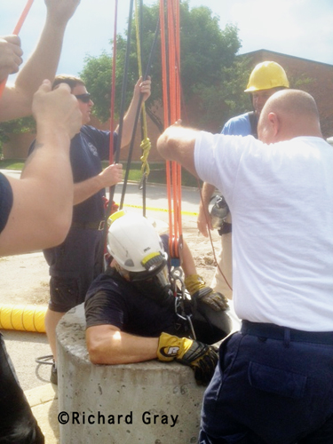 MABAS Division 11 Confined Space Rescue Training