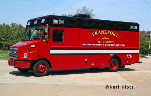 Frankfort Fire Protection District Dive Squad 3 Freightliner MT45 Matco Tools