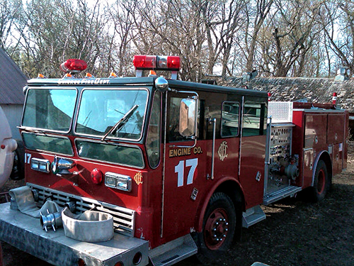 Chicago FD engine from the movie Backdraft