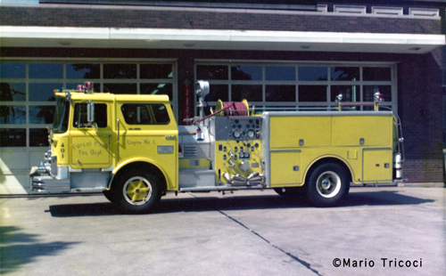 Forest Park Fire Department Mack CF engine