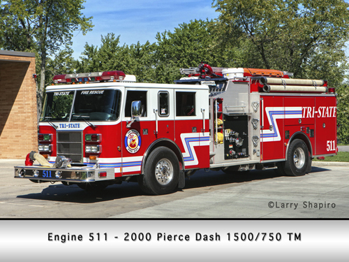Tri-State Fire Protection District Engine 511
