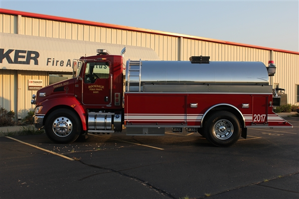 Rockdale Fire Protection District new tanker