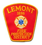 Lemont Fire Protection District patch