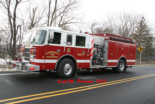 Carpentersville fire engine