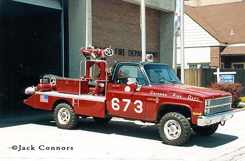 Chicago FD Turret Wagon 673 6-7-3