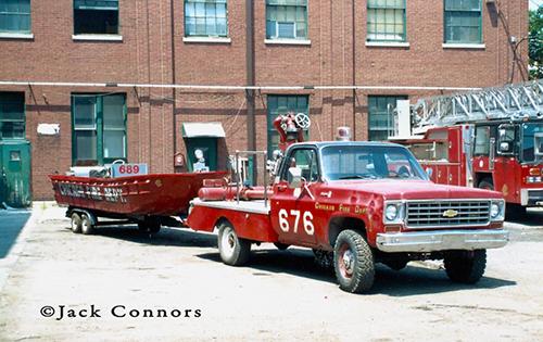 Chicago FD Turret Wagon 676 6-7-6