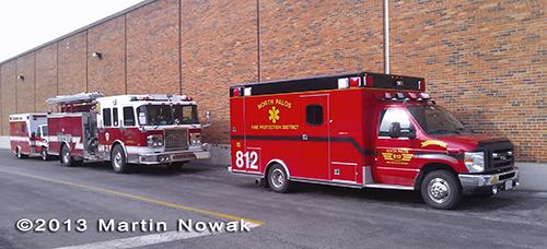 North Palos FPD Ambulance 812