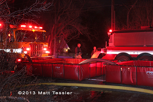 house fire Fox River & Countryside Fire Rescue District 3-22-13