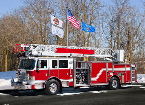 new fire truck for Elgin Fire Department
