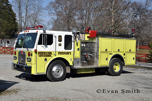 Kenworth FMC Omega fire engine