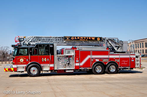 Pierce Arrow XT truck for Glenview FD