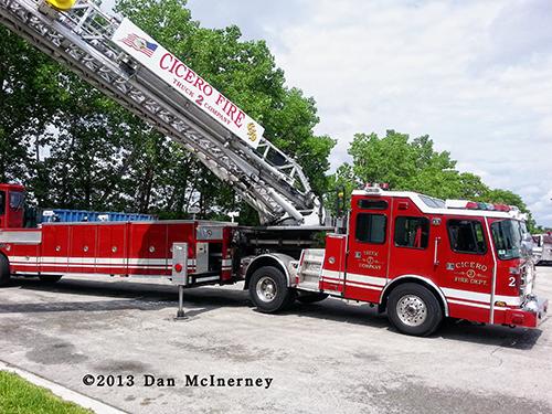 Cicero Fire Department Ladder 2