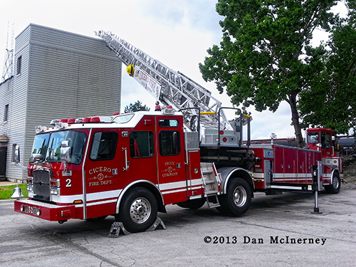 Cicero Fire Department Ladder 2