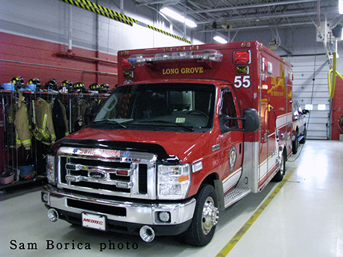 Long Grove FPD ambulance
