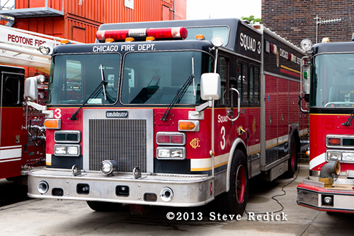 Chicago FD rescue squad