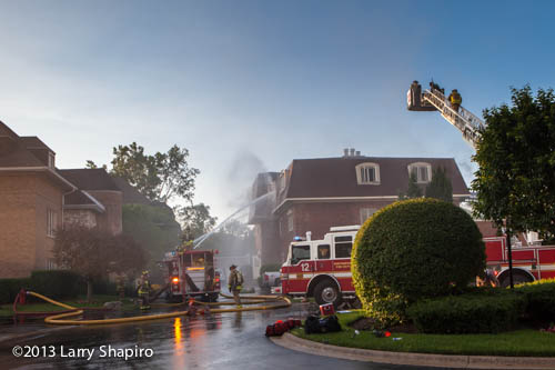 2 Alarm Building Fire In Northbrook 7 1 13