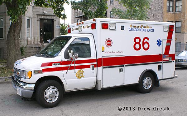 Chicago FD Ambulance 86