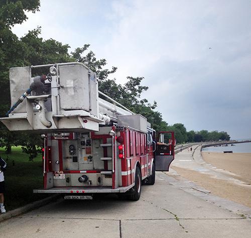 Chicago Fire Department Snorkel Squad