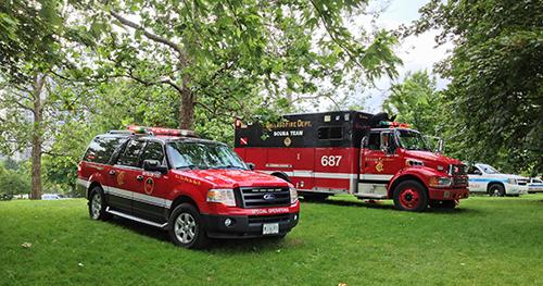Chicago Fire Department dive team