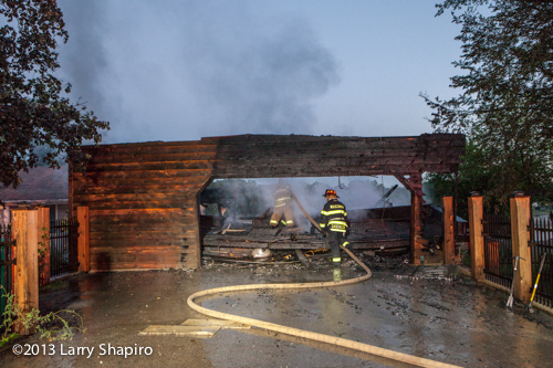 Lake Zurich FIre Department house fire