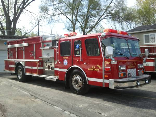 former Naperville fire engine for sale