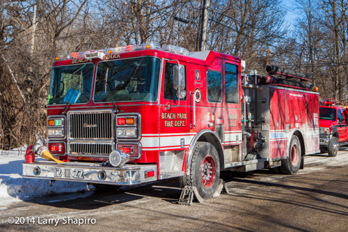 photo of Seagrave fire engine