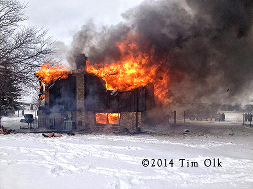 Lynwood house destroyed by fire 1-26-14