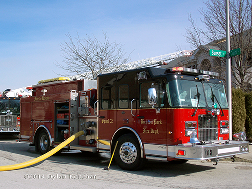 Spartan Smeal fire engine