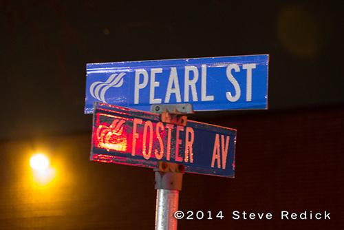 Rosemont street signs