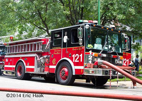 Chicago FD Engine 121